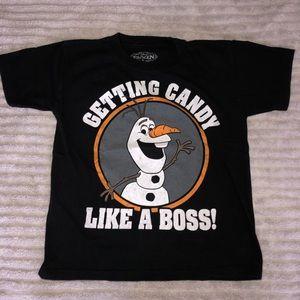 Frozen Short Sleeve Shirt